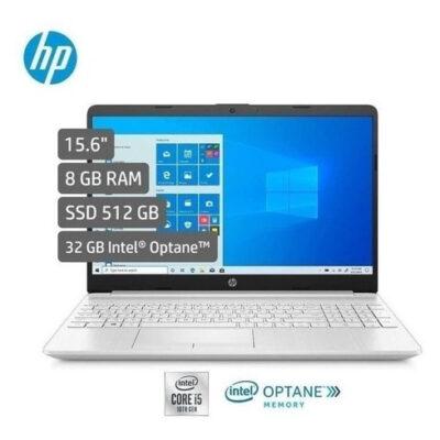Portátil HP Laptop 15 dw1053la Intel Core i5-10210U 512GB