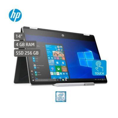 Portátil HP Laptop x360 14 dh0030la Intel Core i3-8145U 256GB